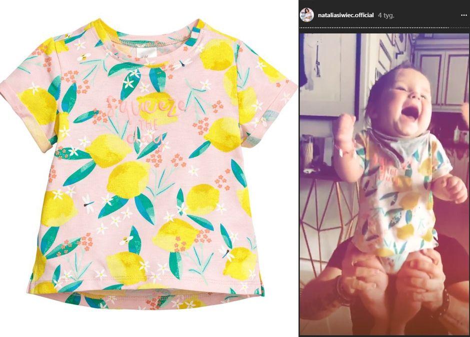 T-shirt H&M w cytrynki, 19.90zł, hm.com