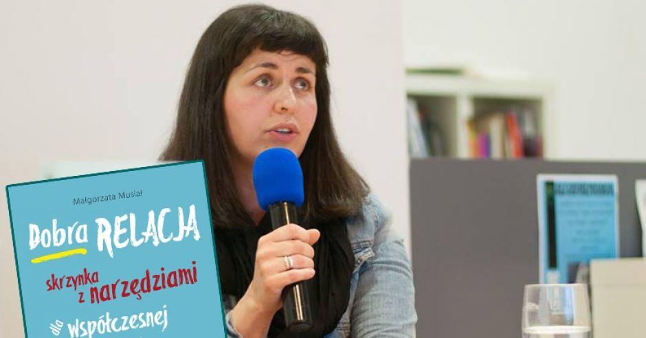 Małgorzata Musiał z bloga dobrarelacja.pl