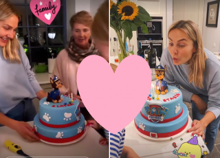 Małgorzata Socha świętuje urodziny syna