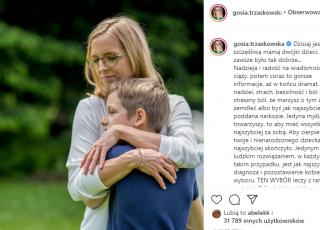Małgorzata Trzaskowska przyznała się do straty ciąży