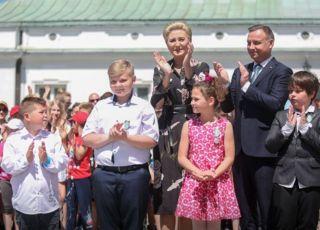 mali bohaterowie odznaczenie przez prezydenta Andrzeja Dudę