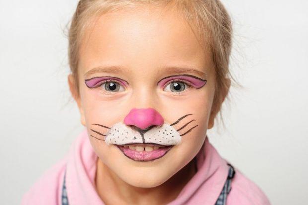 Malowanie twarzy kotek