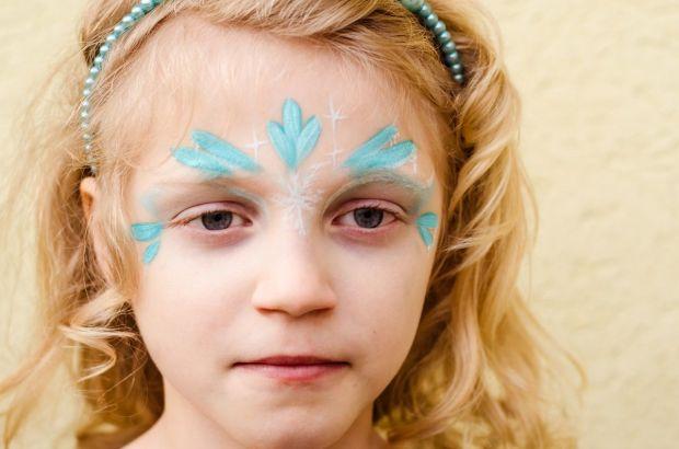 Malowanie twarzy księżniczka