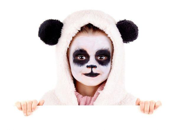 Malowanie twarzy wzory - panda