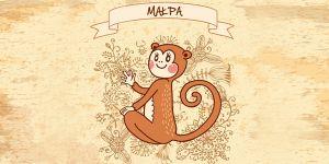 małpa, horoskop chiński, horoskop dla dziecka