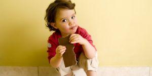 maluch, czekolada, jedzenie
