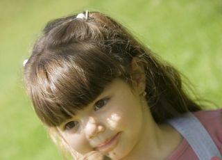 maluch, dziecko, lody, dziewczynka, lato