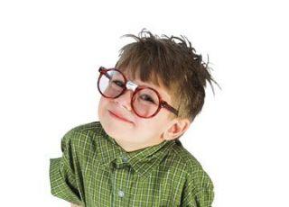 maluch, okulary, chłopiec