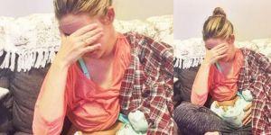 Mama 2-miesięcznej dziewczynki przyznaje, że karmienie piersią jest trudne