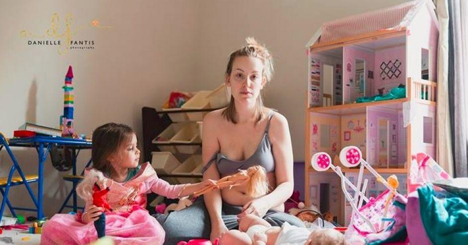 Mama dwójki dzieci cierpiąca na depresję poporodową