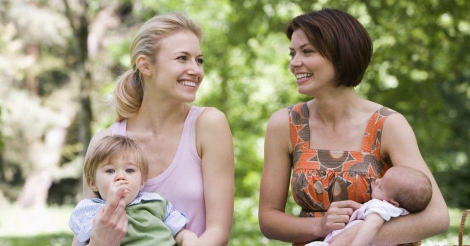 mama, dzieci, niemowlę, maluch
