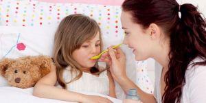 mama, dziecko, chorować, syrop, zdrowie