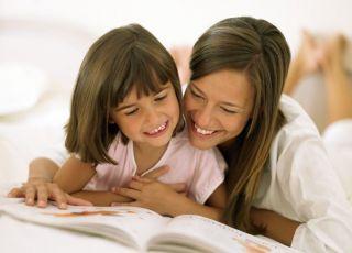 mama, dziecko, czytanie, książka
