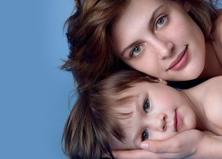 mama, dziecko, La Roche-Posay