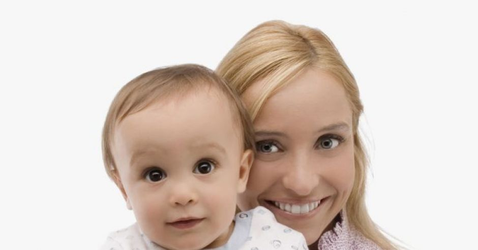 mama, dziecko, niemowlę