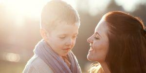 mama, dziecko, rozmowa,przedszkolak