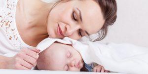 mama, kobieta, dziecko, noworodek, niemowlę
