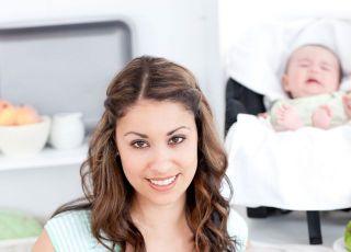mama, kuchnia, niemowlę, rozszerzanie diety  niemowlaka