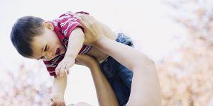 mama, maluch, chłopiec, zabawa, dziecko