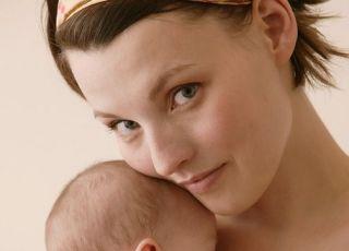 mama, niemowlę