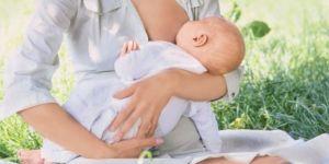 mama, niemowlę, natura