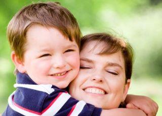 mama, przedszkolak, radość, miłość