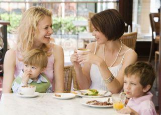 mama, restauracja, dziecko