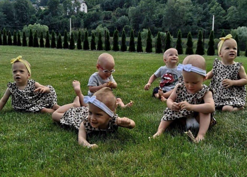 Mama sześcioraczków pokazała nowe zdjęcie rodzeństwa