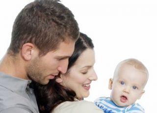 mama, tata, niemowlę, rodzina
