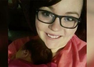 Mama uratowała córeczkę z płomieni