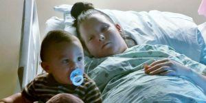 Mama uratowała synka osłaniając go własnym ciałem