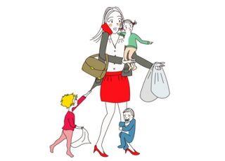 mama z dziećmi - styl rodzicielski - przetrwanie