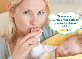 mama ze śpiącym dzieciem