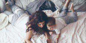 #MamaBezPorównania film: czytanie dzieciom