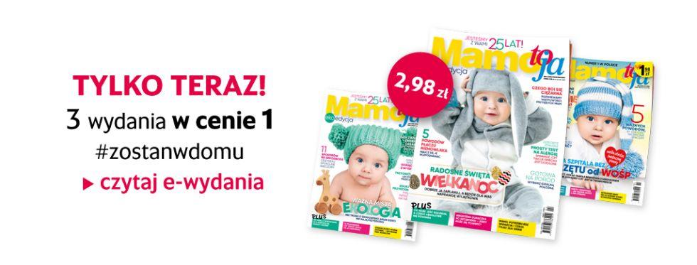 e-wydanie Mamo, To Ja 3 za 1