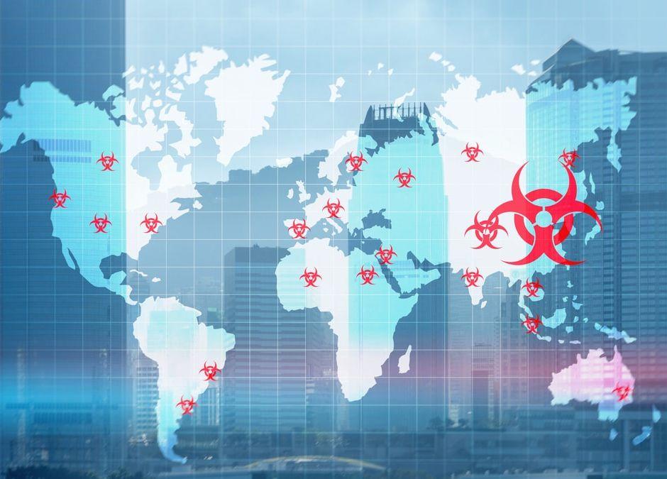mapy koronawirusa