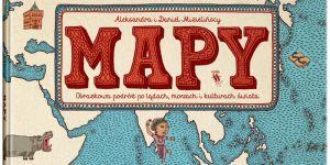 Mapy, Mizielińscy, książka dla dzieci, książka obrazkowa