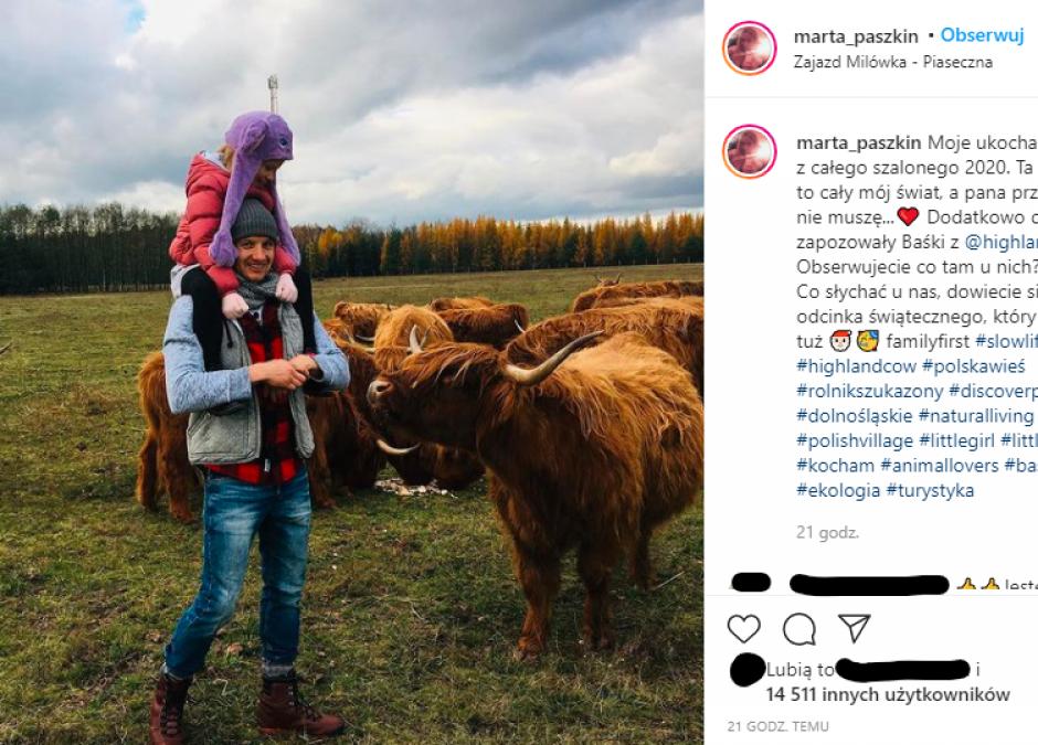 """Marta i Paweł z """"Rolnik szuka żony"""" z córeczką"""