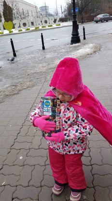 Marta, mała wolontariuszka wośp
