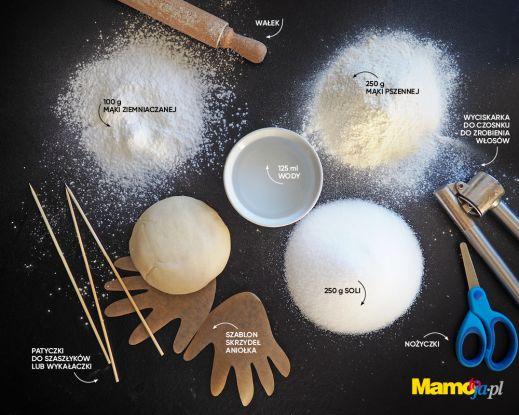 Składniki na masę solną