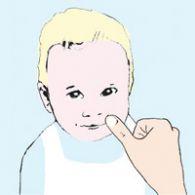 masaż buzi na ząbkowanie