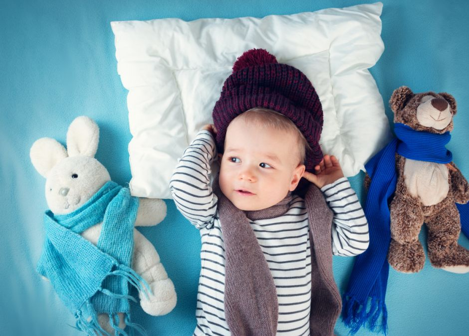maść majerankowa dla niemowląt