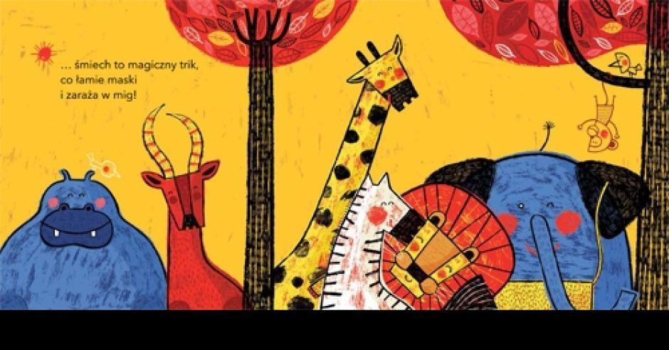 Maska lwa – książka dla dzieci