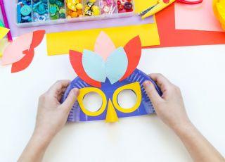 maski karnawałowe dla dzieci diy