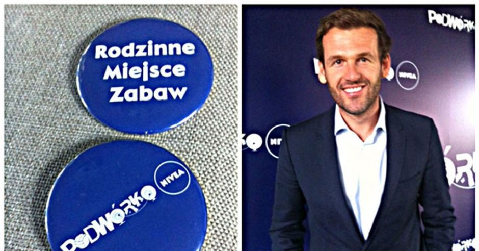 Mateusz Kusznierewicz ambasadorem projektu Podwórko NIVEA Rodzinne Miejsce Zabaw