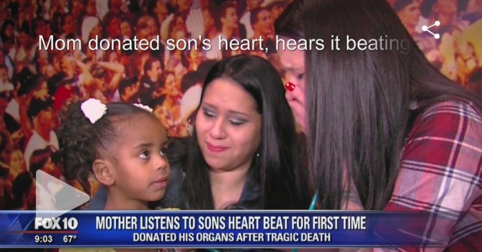 Matka usłyszała bicie serca zmarłego syna