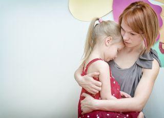 Matka z córką, kobieta, dzieczynka, matka, córka