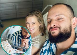 """Mąż Kaczorowskiej o porodzie: """"Urodziliśmy Gabi RAZEM"""""""