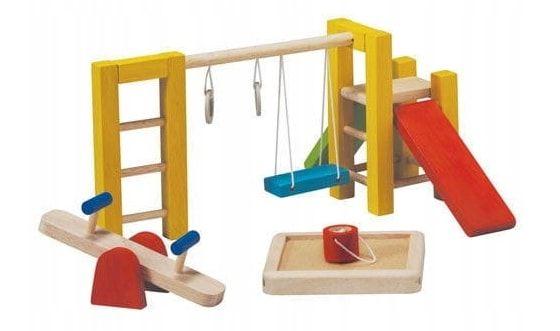 mebelki dla lalek plac zabaw