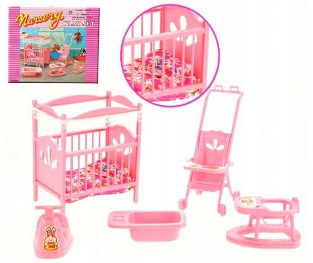 mebelki dla lalek sypialnia dziecka
